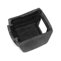 Cover for belt roll on rear seats