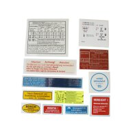 Decal set 220 SEb 63-65 with manual gearbox