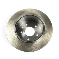 Brake disc rear axle repro