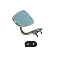 rear view mirror right repro with rubber pad