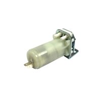 Pump for windscreen washer system flat connector